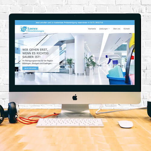 Kundenreferenz für Homepage erstellen lassen.